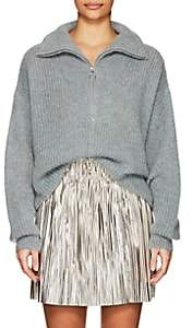 Etoile Isabel Marant Women's Cyclan Mohair-Blend Oversized Sweater - Gray