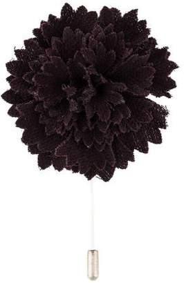 Lanvin Floral Lapel Pin