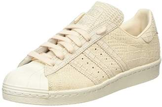 adidas Women's Superstar 80S Hi-Top Trainers, Beige Linen/Off White 0