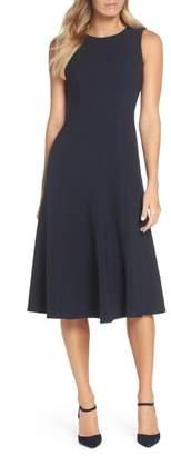 Eliza J Sleeveless Midi Dress