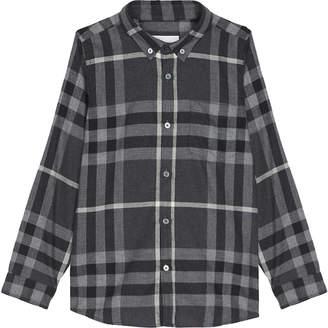 Burberry Check cotton shirt 4-14 years