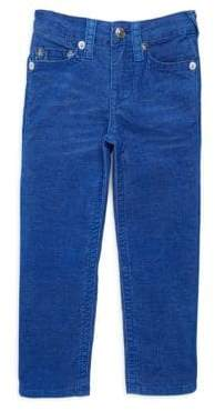 True Religion Boy's Slim-Fit Cord Jeans