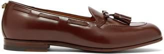 Gucci Loomis leather tassel loafers