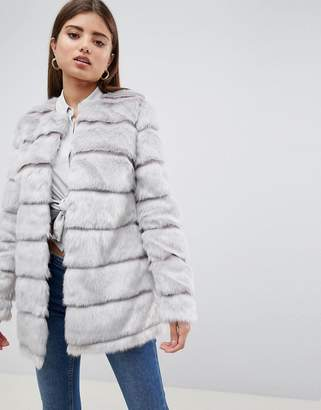 Lipsy Faxu Fur Jacket