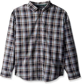G.H. Bass & Co. Men's Tall Madawaska Trail Long Sleeve Shirt