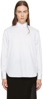 Hyke White Shirt Collar Blouse