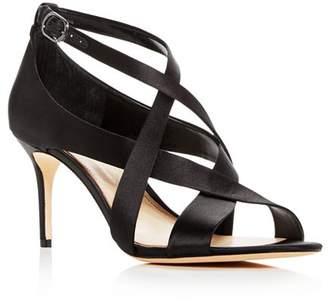 Vince Camuto Imagine Women's Paill Satin Crisscross High Heel Sandals