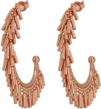 Nickho Rey Fringe Hoop Earrings