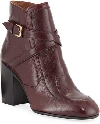 Laurence Dacade Tonia Crisscross Leather Booties