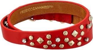 Rebecca Minkoff Studded Double Wrap Leather Bracelet Bracelet