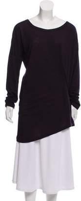 Ann Demeulemeester Long Sleeve Wool Knit Top