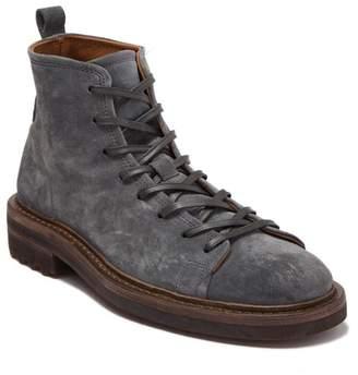 John Varvatos Esssex Leather Combat Boot