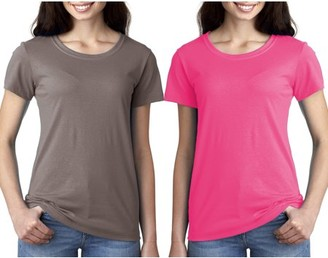 Clementine Apparel Women's Clementine Ideal Crewneck T-Shirt (Pack of 2)