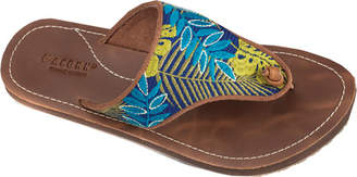 Women's Acorn Artwalk Leather Flip Sandal $54.95 thestylecure.com
