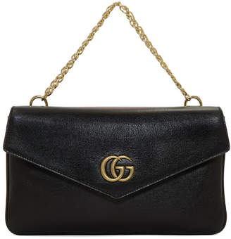 Gucci Black and Red Thiara Double Bag