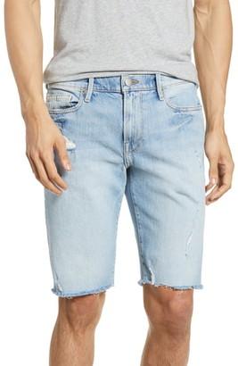 Frame L'Homme Cutoff Denim Shorts