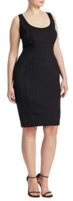 Marina Rinaldi Ashley Graham x Octopus Knee-Length Sheath Dress