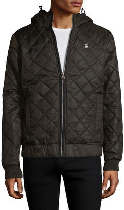 G Star G-Star Men's Meefic Quilted HDD Overshirt Jacket
