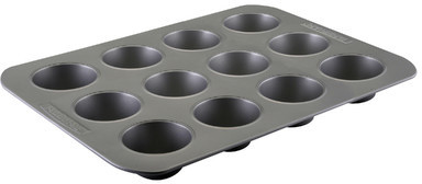 Farberware Nonstick Carbon Steel 12-Cup Muffin Pan