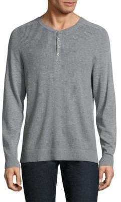 Michael Kors Thermal Stitch Henley