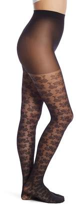 Pretty Polly Rose Floral Print Tights