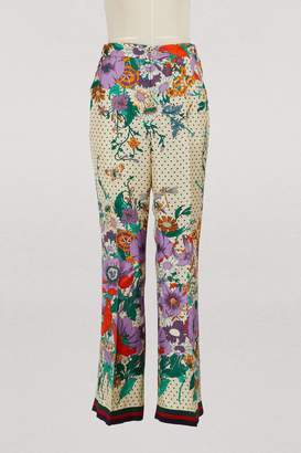Gucci Silk pants