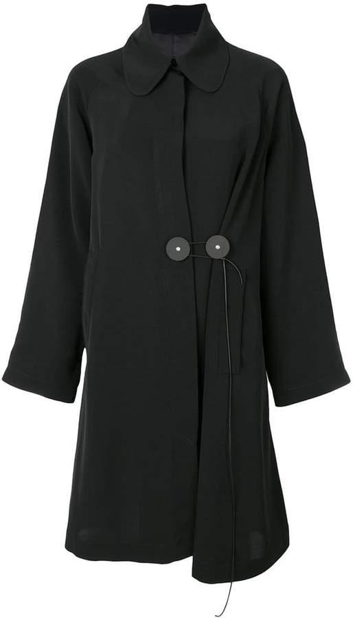 Mantel mit Bubikragen