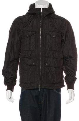 C.P. Company Hooded Quilted Jacket
