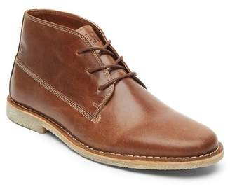 Kenneth Cole Reaction Topstitched Leather Chukka Boot