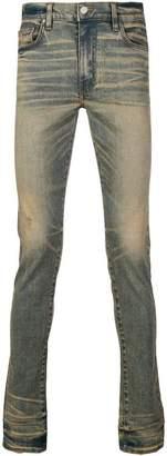 Amiri faded skinny jeans