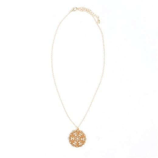 Ccc Small Filigree Pendant Necklace