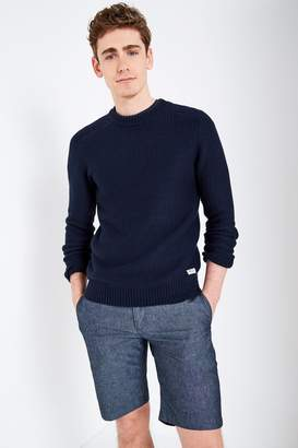 Jack Wills Ettington Textured Stitch Crew Neck Sweater