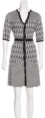 Diane von Furstenberg Vertigo Print Dress