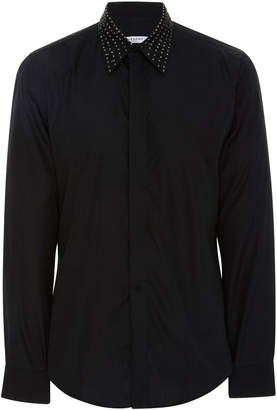 Givenchy Sequin-Embellished Cotton-Poplin Shirt