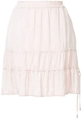 Marc Cain ruffle detail skirt