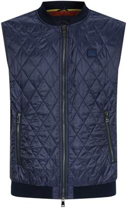 Paul & Shark Contrast Lining Quilted Gilet