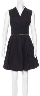 AllSaints Sleeveless Flounce Dress