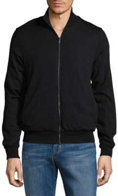 Emporio Armani Reversible Wool Bomber Jacket