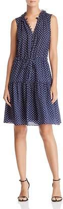Rebecca Taylor Ikat Dot Print Dress - 100% Exclusive