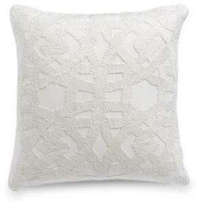 Hotel Collection Winter White Rectangular Cushion