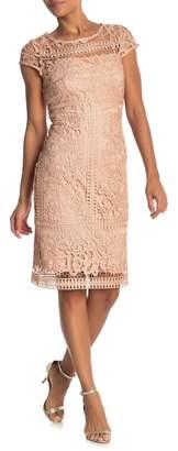 Marina Lace Cap Sleeve Dress