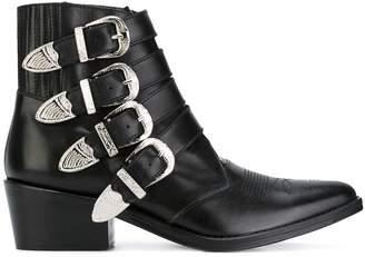 Toga Pulla multi straps boots