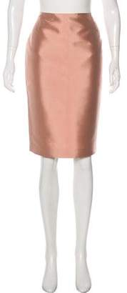 Marni Satin Pencil Skirt