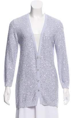 Amina Rubinacci Sequin Knit Cardigan