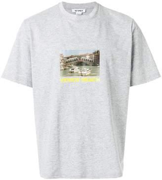 Sunnei Venice Beach print T-shirt
