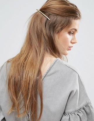 ASOS Limited Edition Sleek Twist Hair Barrette $9.50 thestylecure.com