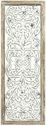Stratton Home Decor Rustic Framed Embossed Metal Panel