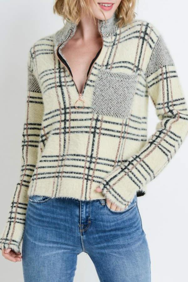 Papercrane Quarter Zip Pullover
