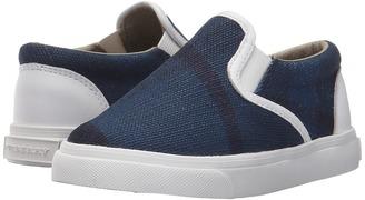 Burberry Kids - Linus Boy's Shoes $185 thestylecure.com