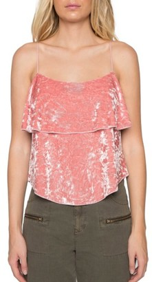 Women's Willow & Clay Velvet Camisole $69 thestylecure.com